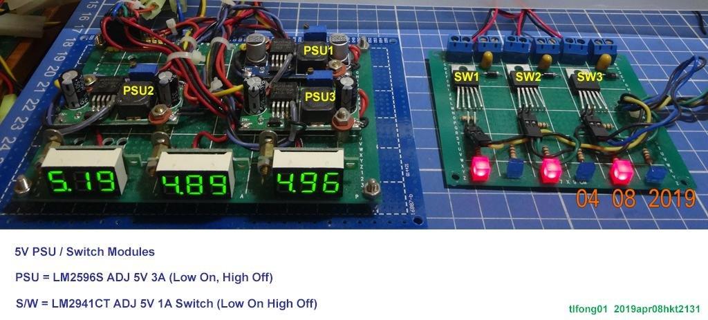 software switchable PSU