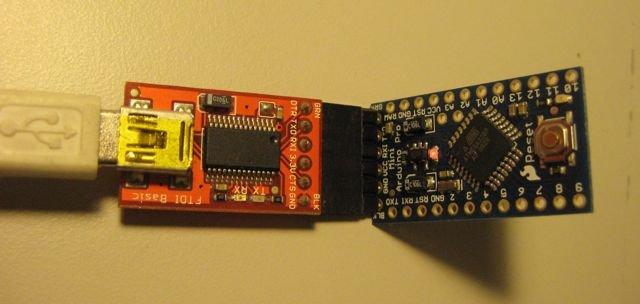 FTDI to USB interface